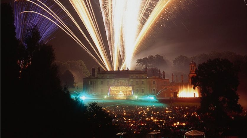 Fireworks at the Hall