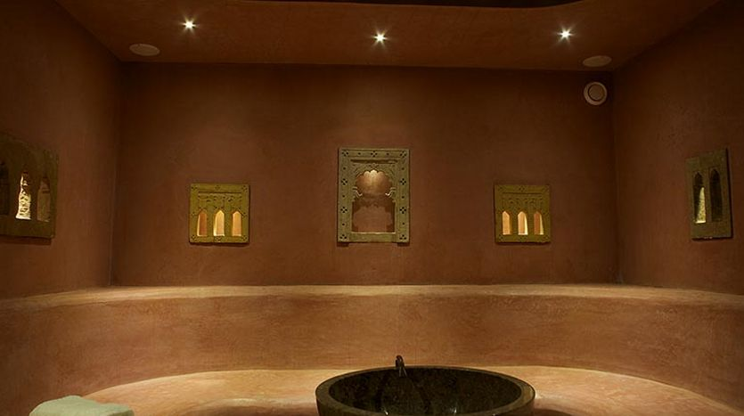 Moroccan hammam steam room