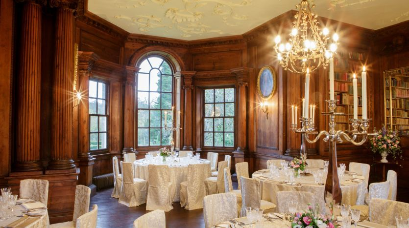 Music Room - wedding breakfast
