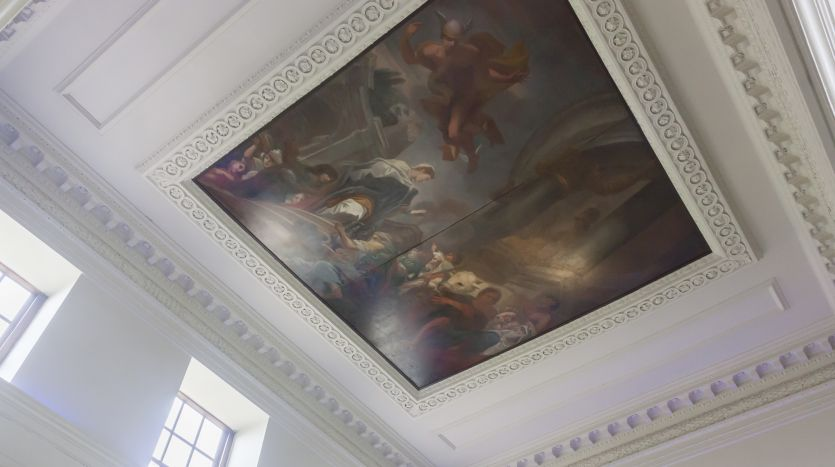 painted cieling