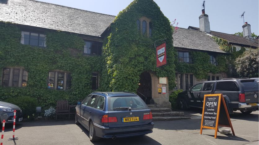 Oxenham Arms Hotel, South Zeal